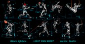 """SPORTSMAN 3D MODEL"" iStock portfolio"