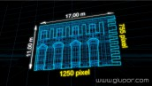 """New Year's Day 2013 TURIN"" Video mapping"